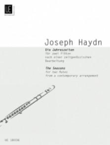 HAYDN J. LES SAISONS 2 FLUTES
