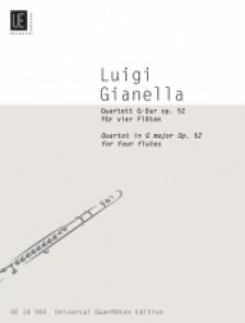 GIANELLA L. QUARTET IN G MAJOR FLUTES
