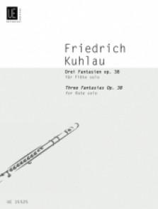 KUHLAU F. FANTAISIES OP 38 FLUTE