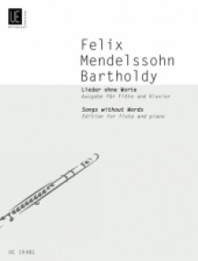 MENDELSSOHN F. SONGS WITHOUT WORDS FLUTE
