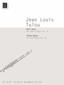 TULOU J.L. 3 DUETS OP 14 FLUTES
