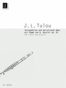 TULOU J.L. INTRODUCTION AND VARIATIONS ON A THEME BY G. ROSSINI FLUTE