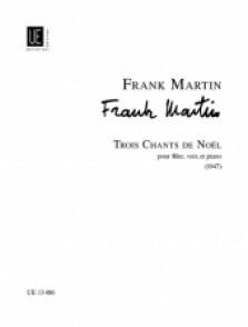MARTIN F. CHANTS DE NOEL FLUTE, VOIX PIANO