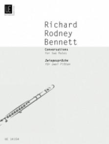 BENNETT R.R. CONVERSATONS FLUTES