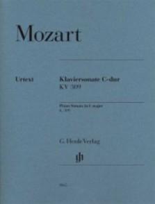MOZART W.A. SONATE KV 309 DO MAJEUR PIANO
