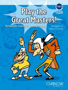 PLAY THE GREAT MASTERS FLUTE OU HAUTBOIS