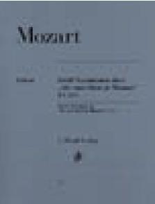 MOZART W.A. AH VOUS DIRAI-JE MAMAN PIANO