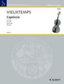 VIEUXTEMPS H. CAPRICCIO ALTO SOLO