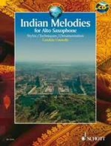 CONNOLLY C. INDIAN MELODIES SAXO ALTO