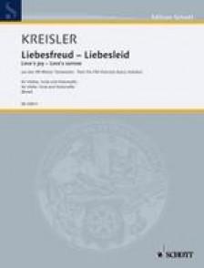 KREISLER F. LIEBESFREUD LIEBESLIED TRIO A CORDES