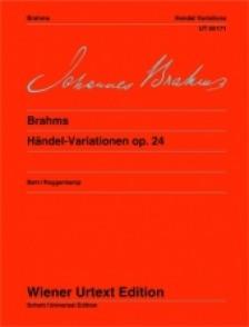 BRAHMS J. VARIATIONS SUR HAENDEL OP 24 PIANO
