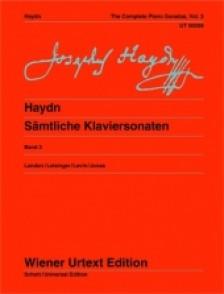 HAYDN J. PIANO SONATAS VOL 3