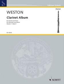 WESTON P. CLARINET ALBUM VOL 1