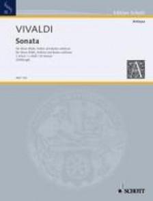 VIVALDI A. SONATA C MINOR HAUTBOIS