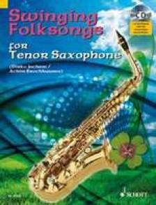 SWINGING FOLKSONGS FOR SAXO TENOR