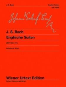 BACH J.S. SUITES ANGLAISES PIANO