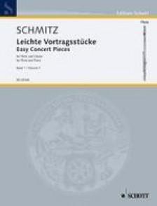 SCHMITZ G.J. EASY CONCERT PIECES VOL 1 FLUTE