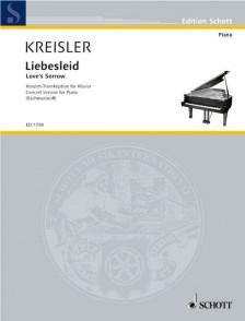 KREISLER F. LIEBESLEID PIANO