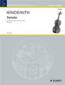 HINDEMITH SONATE ALTO SOLO