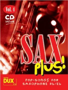 SAX PLUS VOL 4 SAXO ALTO OU TENOR