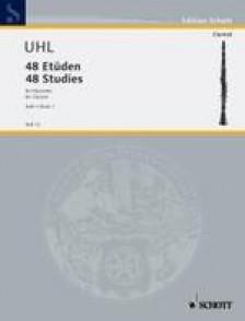 UHL A. 48 ETUDES BOOK 1 CLARINETTE