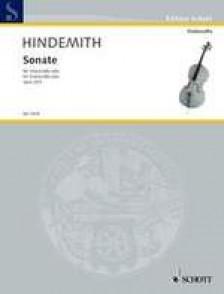 HINDEMITH P. SONATA OP 25/3 VIOLONCELLE