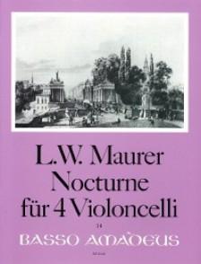 MAURER L.W. NOCTURNE OP 90 VIOLONCELLES
