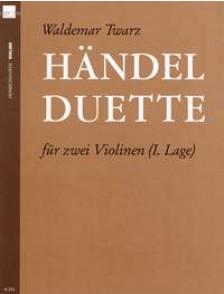 TWARZ W. HANDEL DUETTE VIOLONS