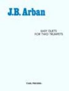 ARBAN J.B. EASY DUETS TROMPETTES