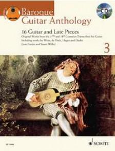 BAROQUE GUITAR ANTHOLOGY VOL 3