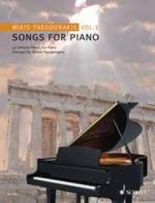 THEODORAKIS M. SONGS FOR PIANO