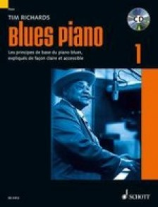 RICHARDS T. BLUES PIANO VOL 1