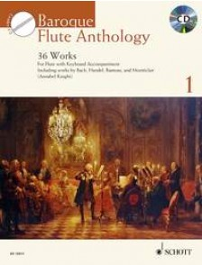 BAROQUE FLUTE ANTHOLOGY VOL 1