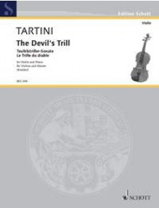 TARTINI G. SONATA G MINOR VIOLON