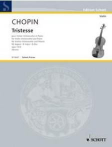 CHOPIN F. TRISTESSE VIOLON