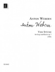 WEBERN A. STUCKE OP 7 VIOLON