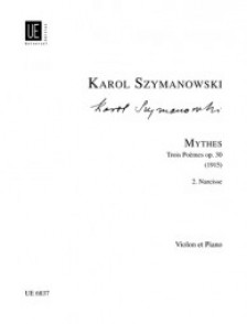 SZYMANOWSKI K. MYTHES II: NARCISSE VIOLON