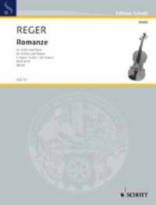REGER M. ROMANZE G MAJOR VIOLON