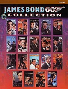 JAMES BOND 007 COLLECTION CLARINET