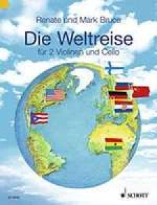 BRUCE-WEBER R. A WORLD AROUND THE WORLD ENS. CORDES