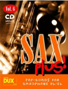 SAX PLUS VOL 6 SAXO ALTO OU TENOR