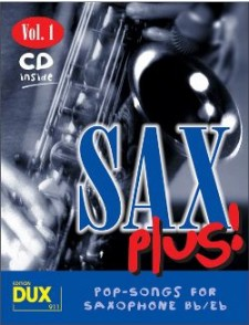 SAX PLUS VOL 1 SAXO ALTO OU TENOR
