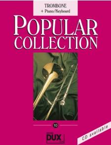 POPULAR COLLECTION VOL 10 TROMBONE