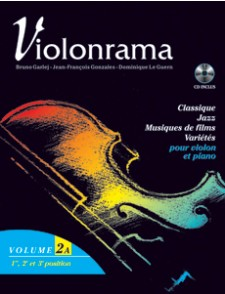 GARLEJ  B. VIOLONRAMA VOL 2A VIOLON + CD