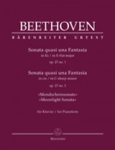 BEETHOVEN L. SONATE OP 27  PIANO