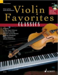 VIOLIN FAVORITES CLASSICS VIOLON