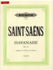 SAINT-SAENS C. HAVANAISE OP 83 VIOLON
