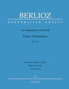 BERLIOZ H. LA DAMNATION DE FAUST CHANT PIANO