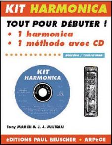 MILTEAU J.J./MARCH T. KIT HARMONICA BLUES
