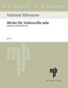 SILVESTROV V. WORKS FOR CELLO SOLO